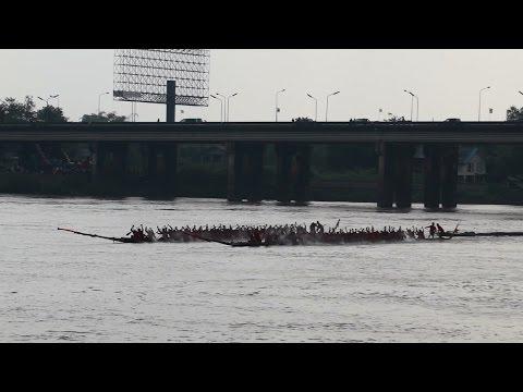 ประเพณีแข่งเรือยาวอุบล 2557 1 2014 Ubol long boat racing tradition
