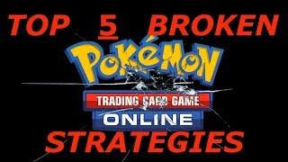 Top 5 Most Broken Strategies in Pokemon Trading Card Game Online