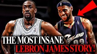 This CRAZY Young LeBron James Trash Talk Story WON Him A Playoff Series!
