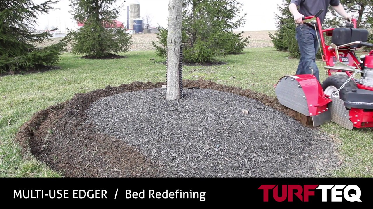 Bed Edging Turf Teq Commercial Edger Youtube