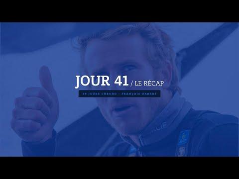 Jour 41 : revivez les 24 dernières heures de François Gabart à bord de son Trimaran MACIF.