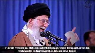 Imam Khamenei - zu den Ereignissen 09.012018