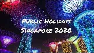 Public Holidays In Singapore 2020