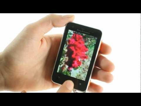 Sony Ericsson Active unboxing and UI demo