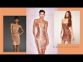 Peach Sequin Dress