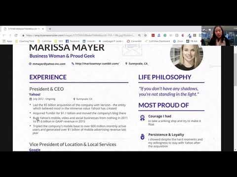 Is Marissa Mayer's Resume Impressive? - CultiVitae