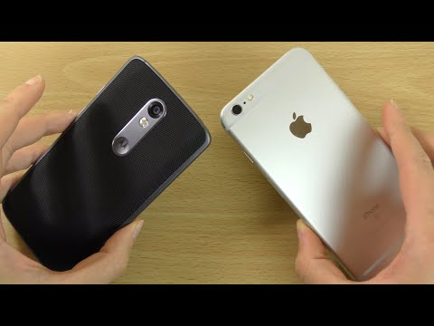 Moto X Force (Droid Turbo 2) VS iPhone 6S+ - Speed & Camera Test!