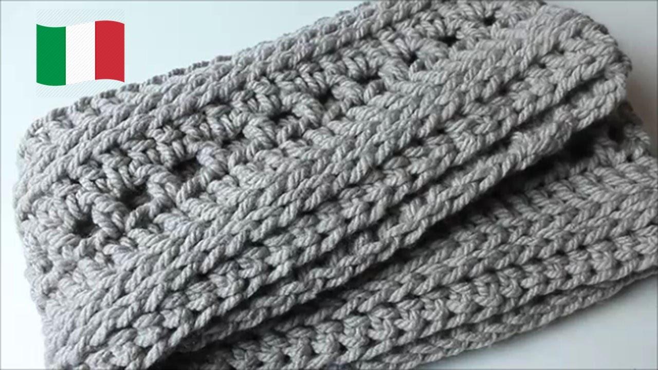 moda di vendita caldo goditi il miglior prezzo ultimo stile Tutorial uncinetto: Sciarpa ad anello | Infinity