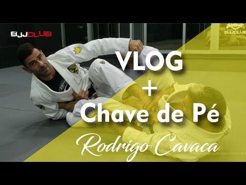 Chave de pé com Rodrigo Cavaca - Jiu Jitsu - BJJCLUB