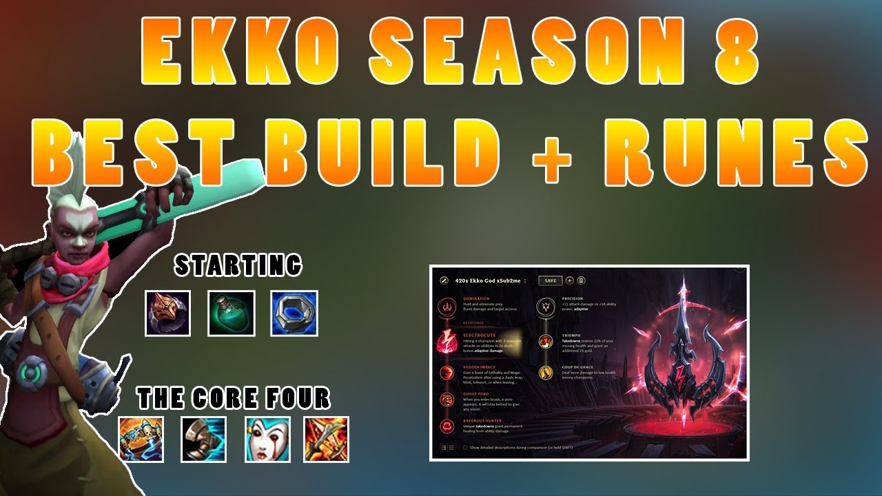 Ekko Build And Runes