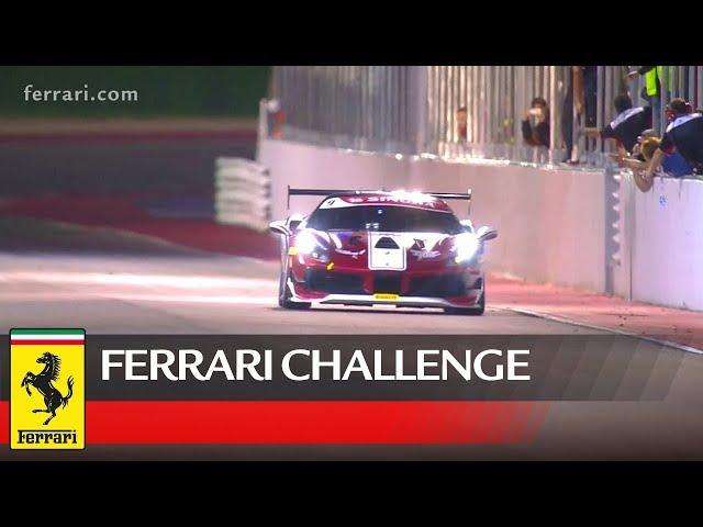 Ferrari Challenge Europe - Misano 2018, Trofeo Pirelli Race 1