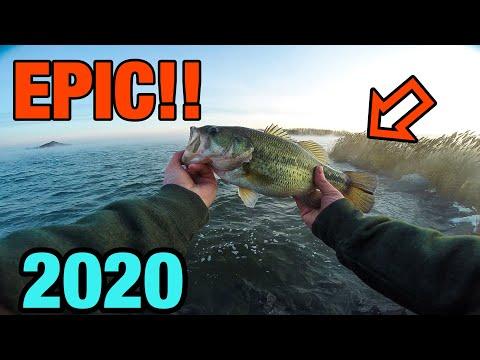 Braidwood Lake 2020 - Spring Bass Fishing (Illinois)