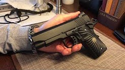 Wilson Combat XTAC compact 1911 overview and first impressions!