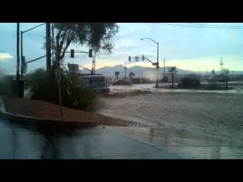 Flash Flood in Lake Havasu City, AZ