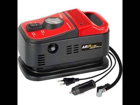 4f7c364d6 Mini Compressor De Ar 12v Duo Air Plus Schulz 127v - YouTube