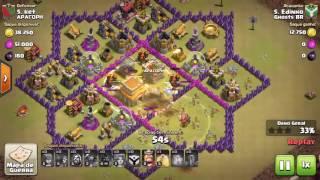 Ataque com Valquírias - Clash of Clans