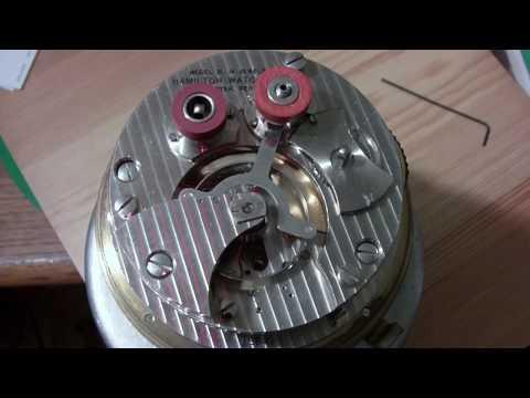 Hamilton Model 21 Marine Chronometer, Part 1 of 3