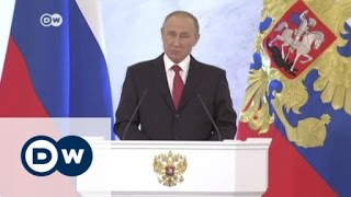 بوتين يخفف من خطابه المناهض للغرب ويبدي استعداده للتعاون مع ترامب | الأخبار