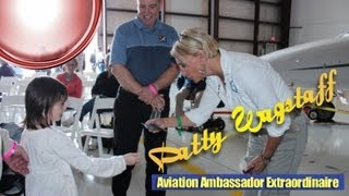 Patty Wagstaff, light sport aircraft aerobatic routine in the future.