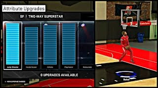 NBA 2K15 MyCAREER - Attribute Update #6 | Showing My Jumpshot, Dunk Packages, Attributes And MORE !