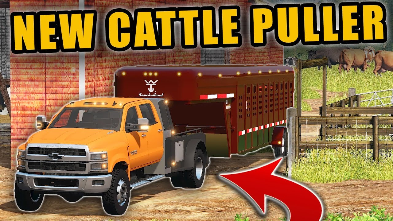 OUR NEW CATTLE PULLER- 2019 CHEVY 4500 W/ FLATBED ...