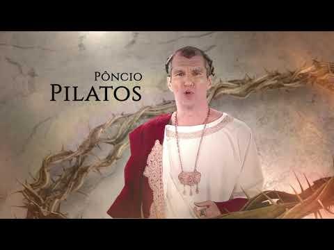 Diante do filho de Deus, Pôncio Pilatos lavou as mãos