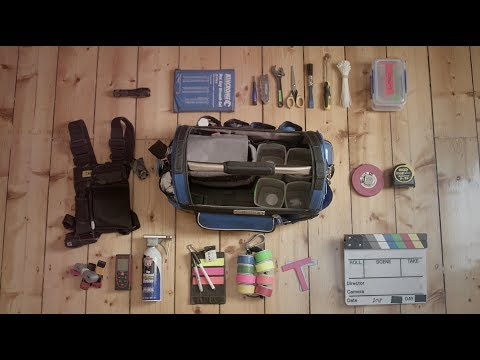 What Is In A Camera Assistant's Bag?