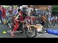 LIHAT DUEL DUEL PALING BERBAHAYA Kelas Sport 2T 140 CC TU Drag Bike IDC