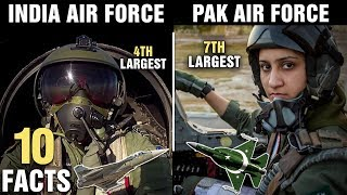 10 Surprising Differences Between INDIA and PAKISTAN Air Force
