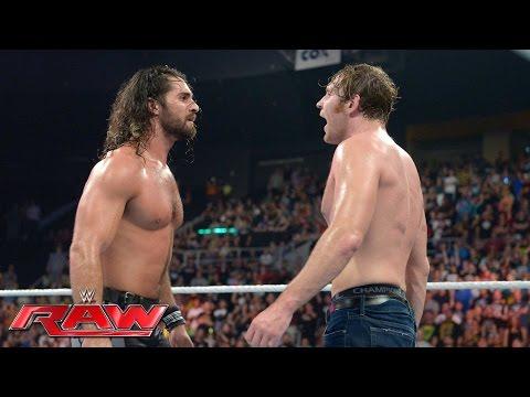 Dean Ambrose vs. Seth Rollins - WWE Championship Match: Raw, July 18, 2016
