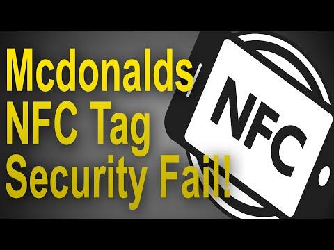McDonalds NFC Tag Security Fail!