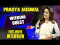Pragya Jaiswal Exclusive Interview || Om Namo Venkatesaya & Gunturodu || Weekend Guest || Ntv video
