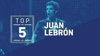 #Top5 Puntazos Juan Lebrón 2019 - World Padel Tour