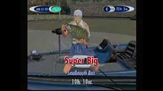 Sega Bass Fishing 2 Gameplay - Green Inlet (with Credit Sequence) - Sega Dreamcast
