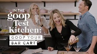 Gwyneth Paltrow & Kate Hudson Catch Up Over Homemade Espresso Martinis | Goop