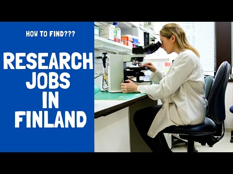 Research Jobs in Finland I PhD I Funding I Scholarships