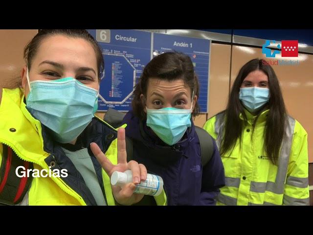 Reconocimiento a los profesionales de Atención Primaria de la Comunidad de Madrid