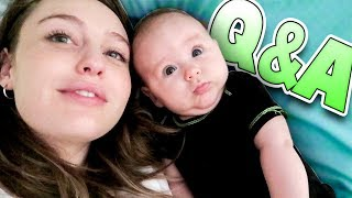 Answering Questions with Layla   Family Baby Vlogs