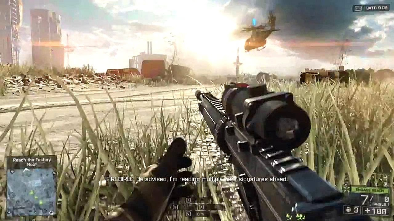 Battlefield 4 Gameplay on Radeon R7 260X - Ultra 1080p