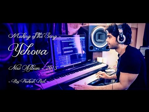 "Raj Prakash Paul | BTS making ""Yehova"" Album ""Prardhana"" Acoustic Guitars Feat. Keba Jeremiah."