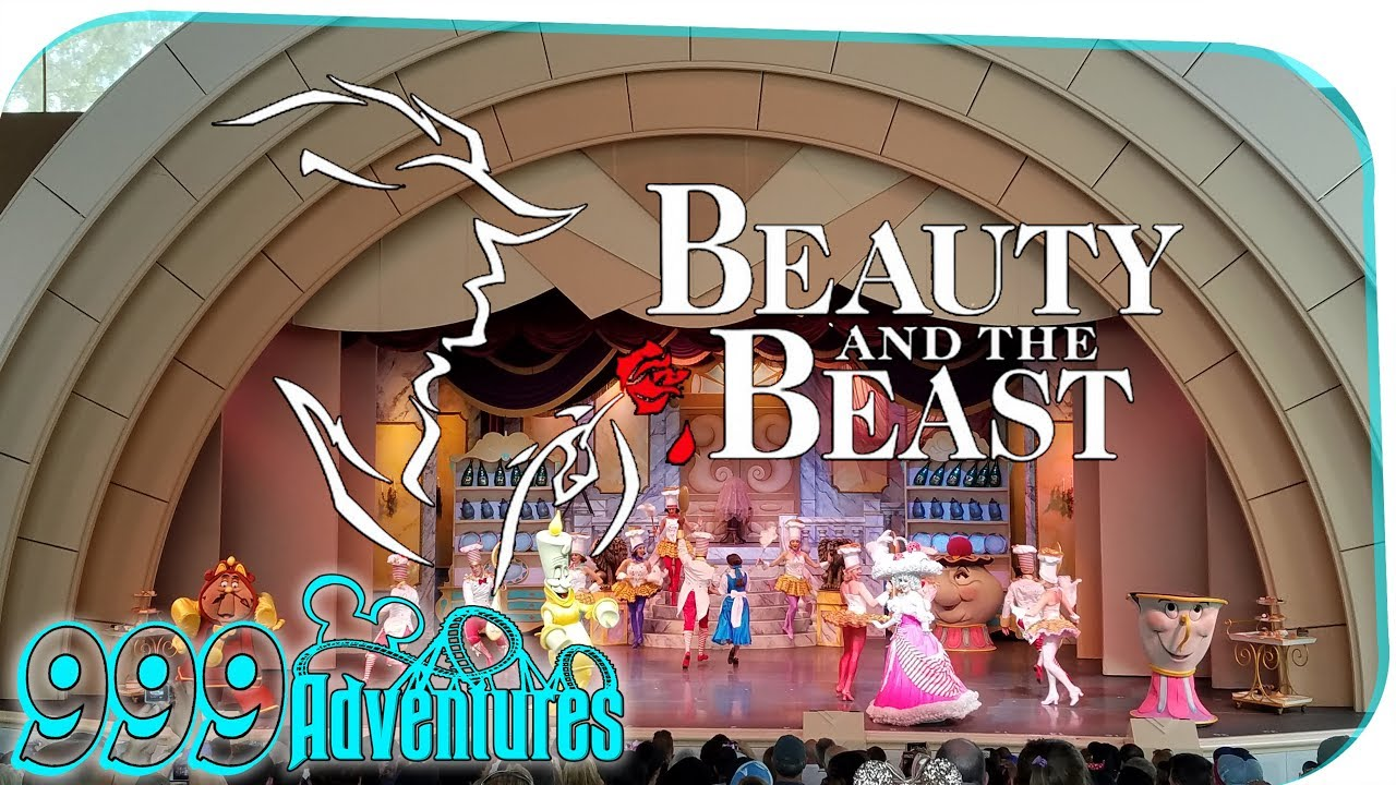 beauty and the beast - live on stage at disney u0026 39 s hollywood studios