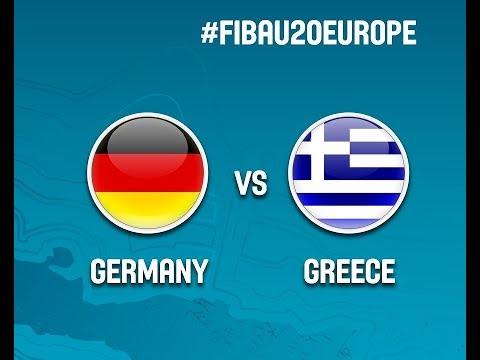 Watch FULL VIDEO Germany vs Greece  39'50''at the FIBA #FIBAU20 European Championship 2017