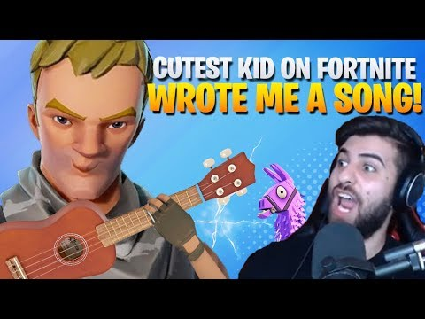 Cutest Kid On Fortnite Wrote Me A Song - Part 3 (Fortnite Battle Royale)