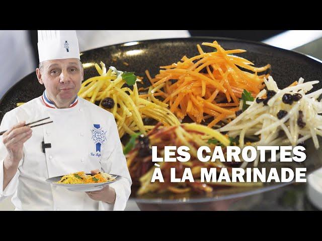 LES CAROTTES à la MARINADE by Éric Briffard