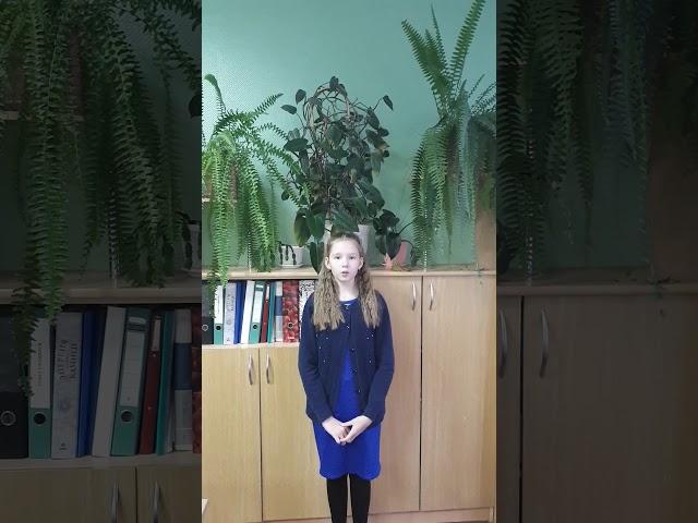 Изображение предпросмотра прочтения – ВикторияГусева читает произведение «Берёза» С.А.Есенина