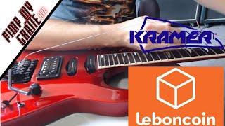 Une Kramer SM-1 du Bon Coin - PIMP MY GRATTE en live + FAQ MATOS