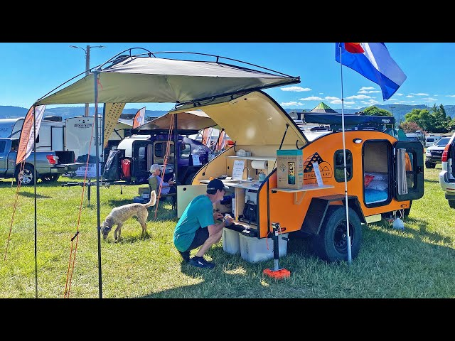 SMALL TRAILERS & OFF-ROAD VEHICLE TOURS at the Adventure Van Expo