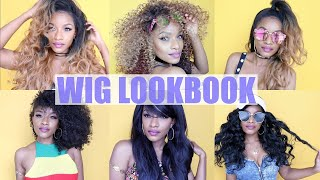 Wig Lookbook | Affordable Slay Edition ft. Outre