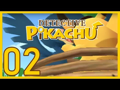 Detective Pikachu - Dove Food & Mysterious Feathers! Ep. 02 [Nintendo 3DS]