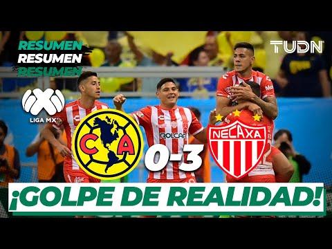 Resumen y goles | América 0 – 3 Necaxa | Liga Mx CL 2020 – J8 | TUDN